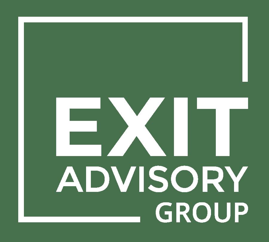 Exit Advisory Group Logo white