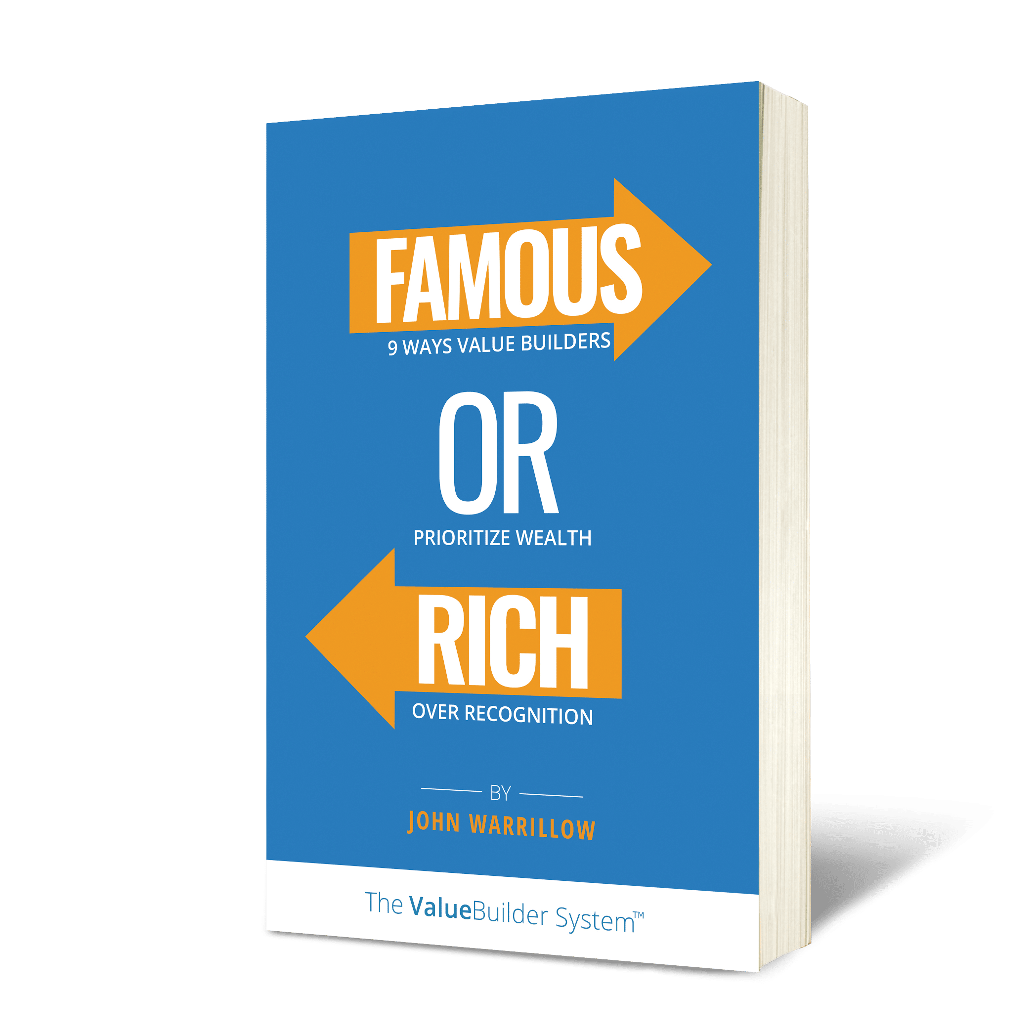 Famous or Rich - Book Cover